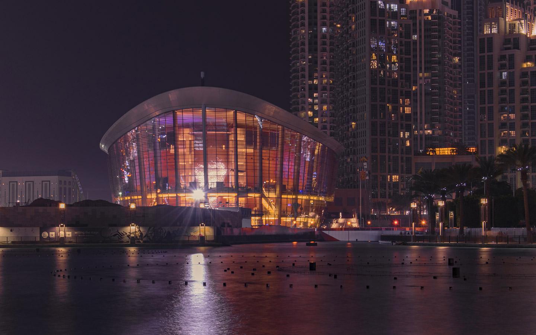 the dubai opera house