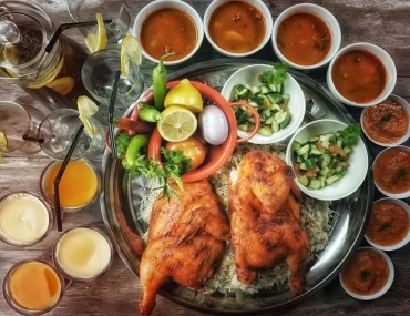 Chicken Mandi at popular mandi restaurants in Abu Dhabi