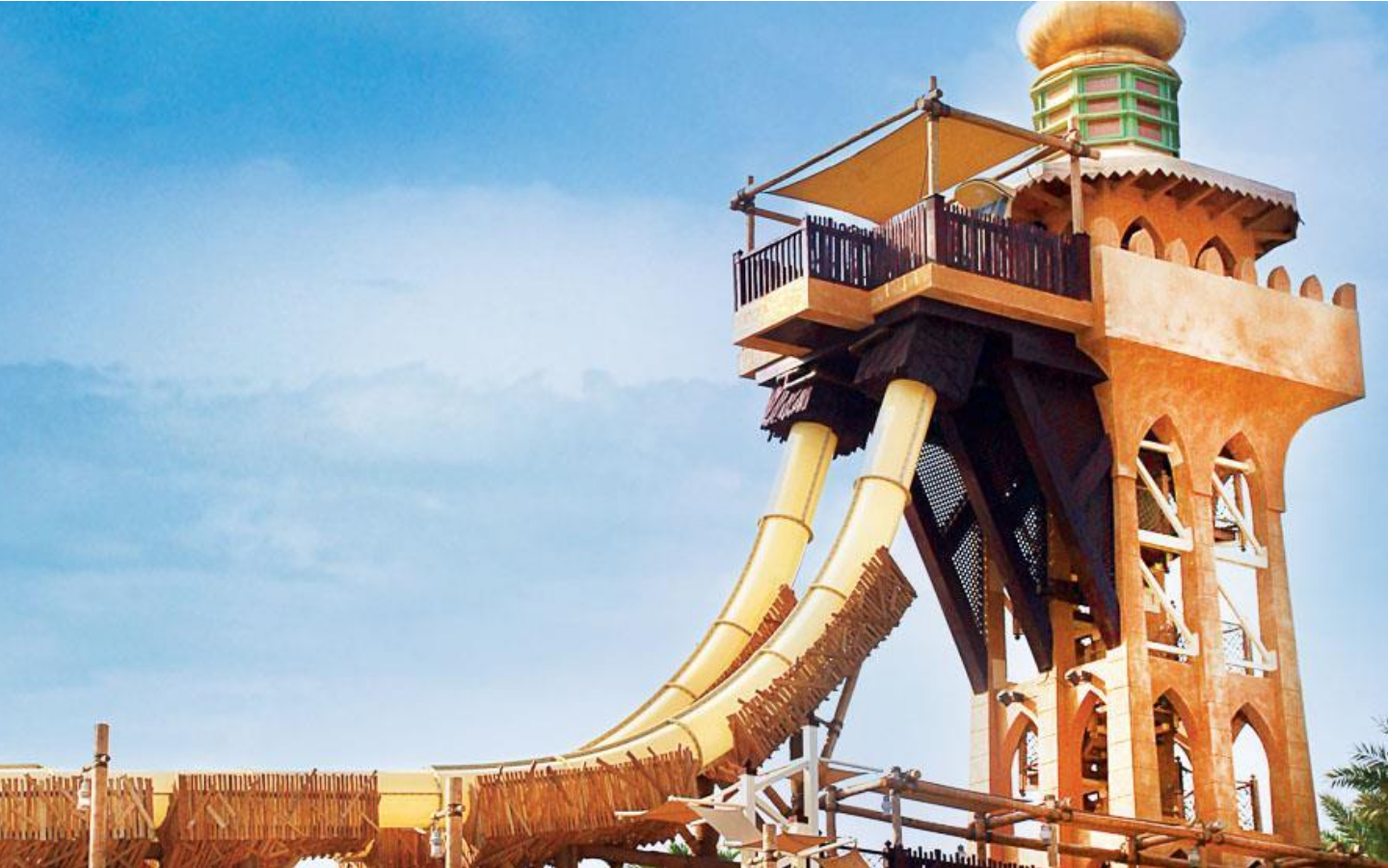 Wild Wadi is the most famous water park in Dubai