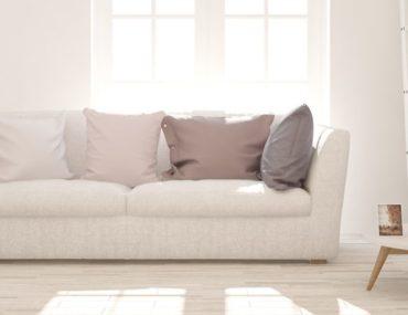 أريكة بيضاء