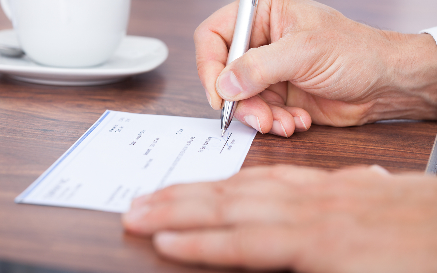 Single rent cheques are becoming more and more difficult