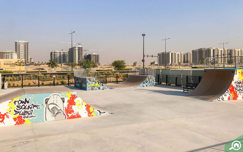 skate park Town Square