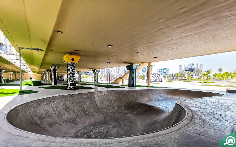 skate park al reem island