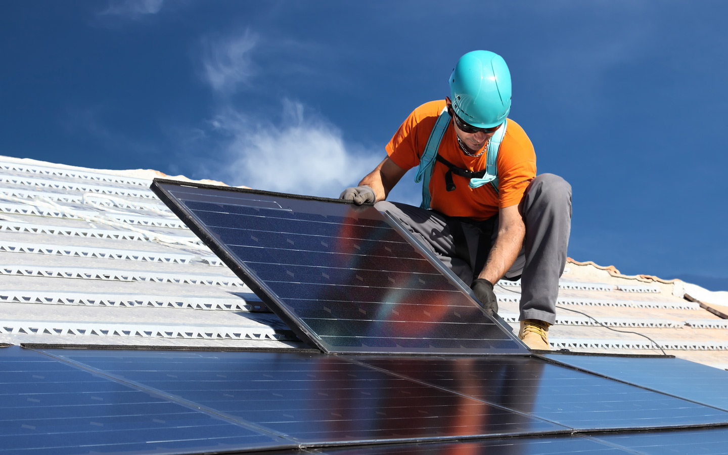 The main expense for to using solar power are the costs of setting up solar panels