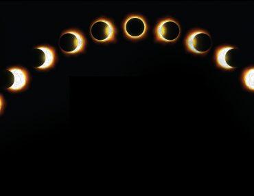 مراحل كسوف الشمس