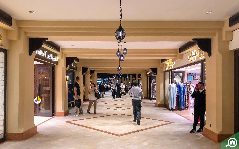 stores at souk al bahar in dubai