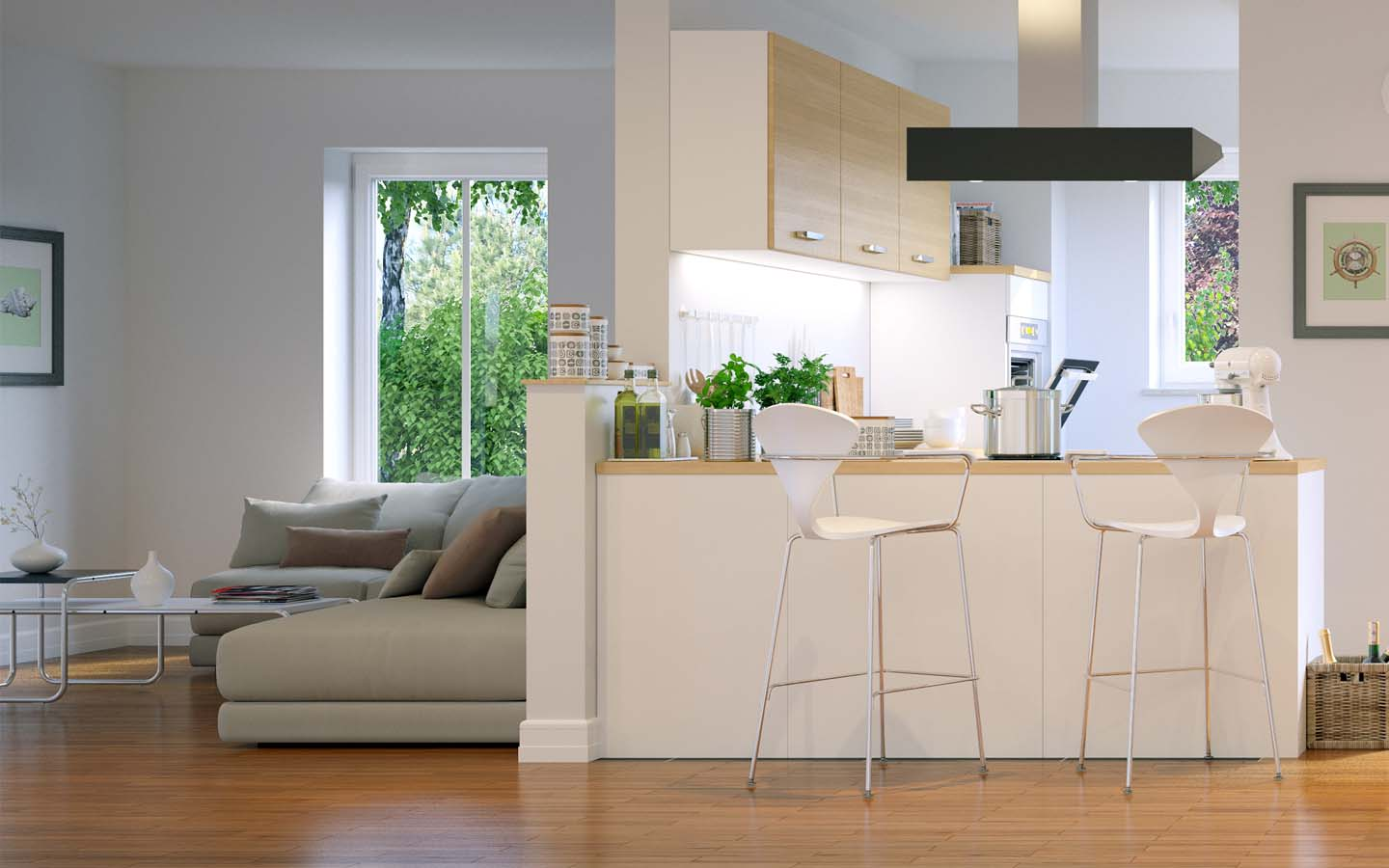 Space is one of the basic elements of interior design.