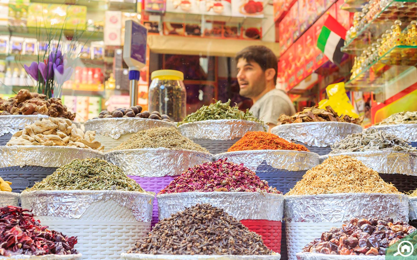 spices at spice souk in dubai