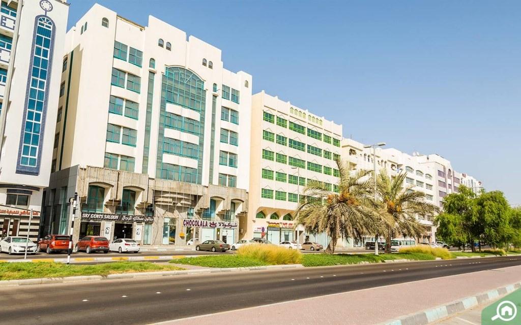 حازت منطقة الخالدية على المرتبة الثالثة بين أكثر المناطق طلباً لاستئجار شقة في أبوظبي