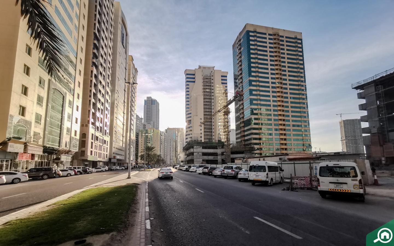 street in Al Taawun