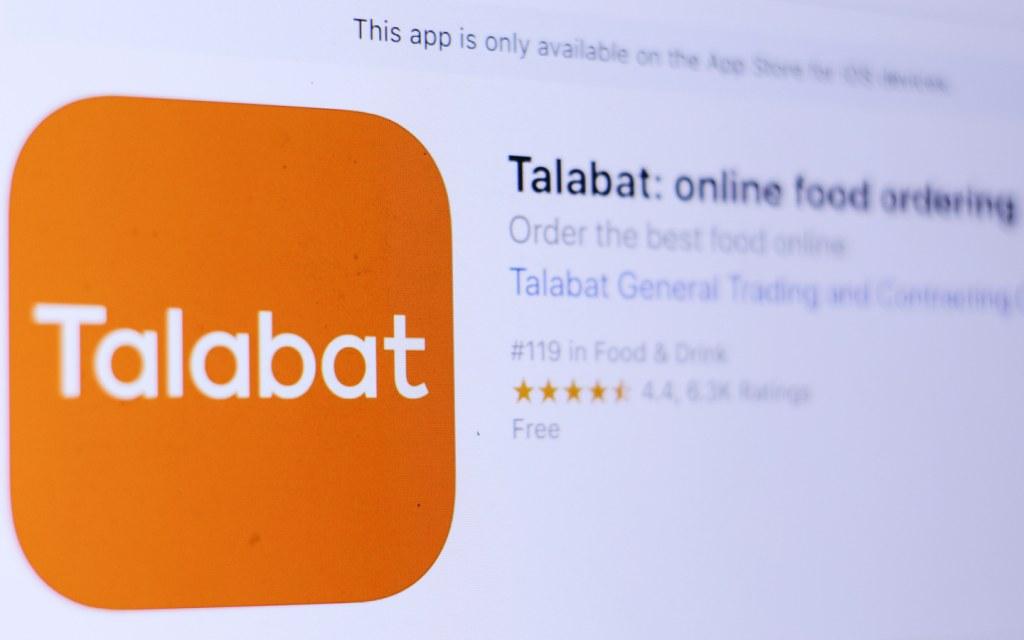 Talabat food app