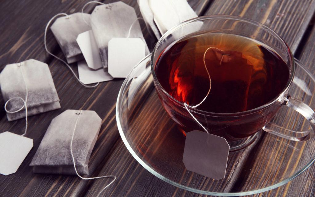 أكياس شاي