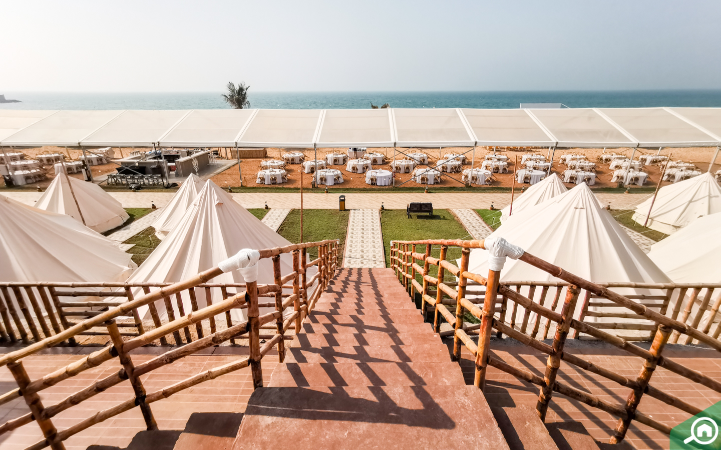 Canvas & Wood tents for weddings in Dubai