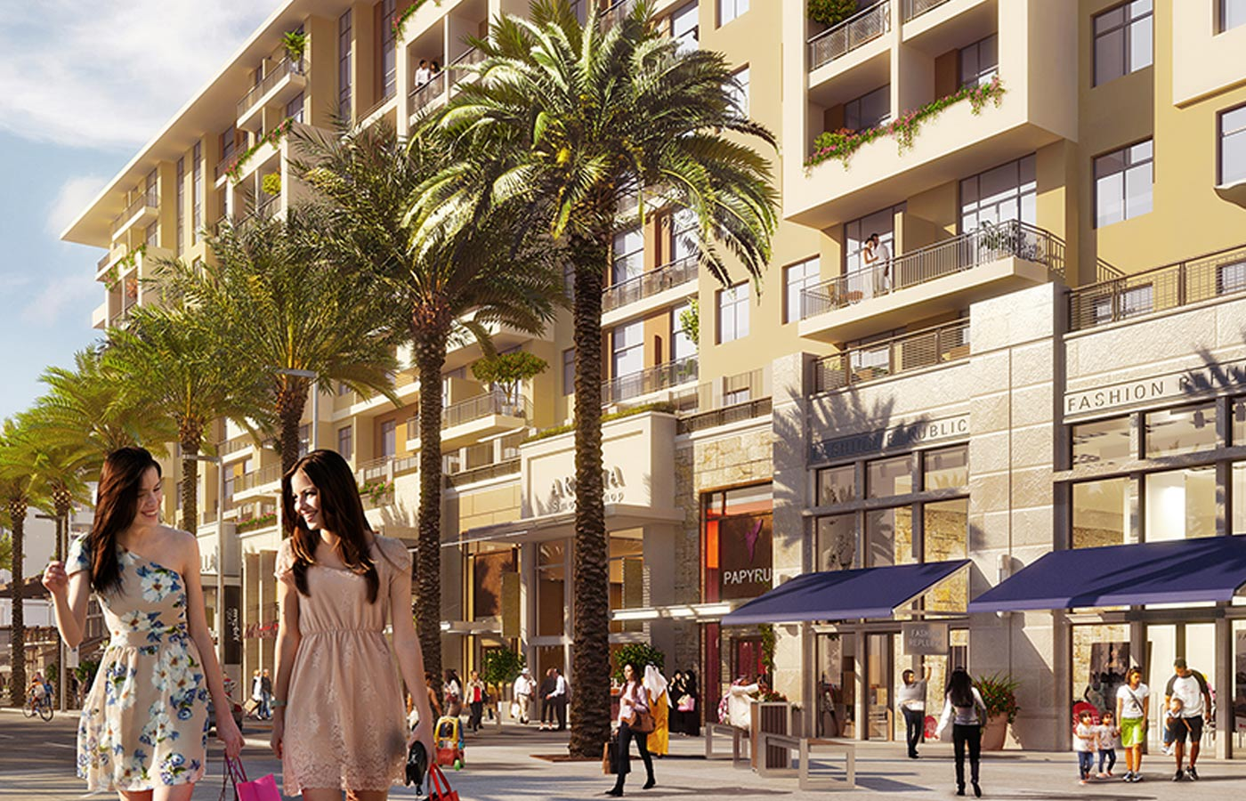Town Square is one of the areas in Dubai with a large supply of townhouses