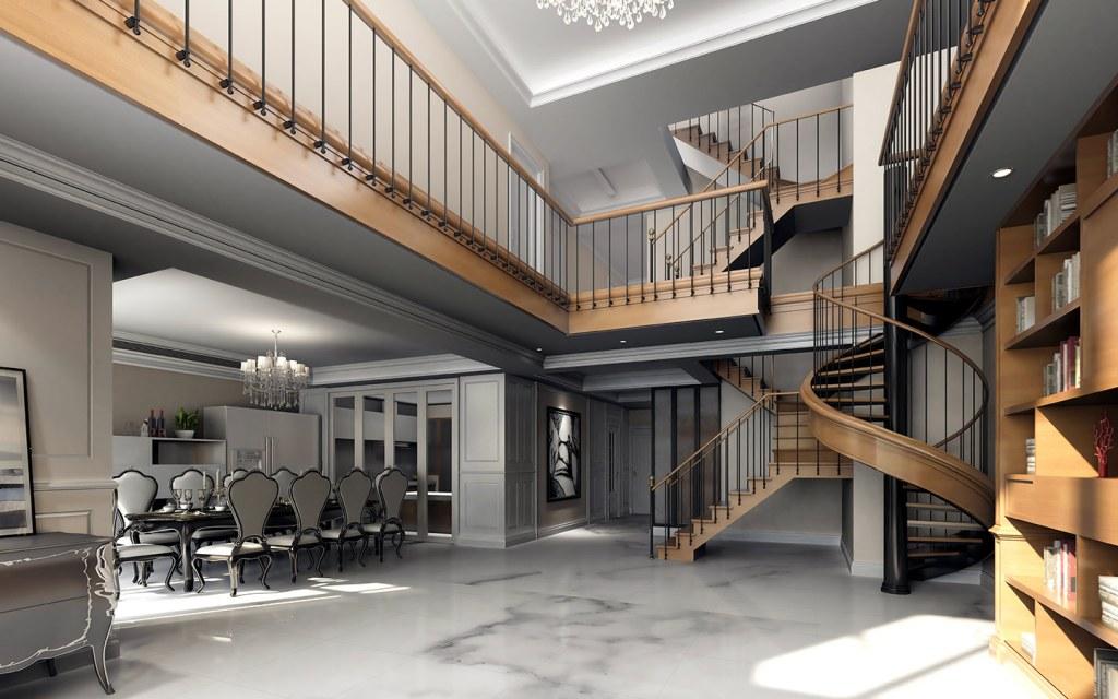 شقة تربلكس