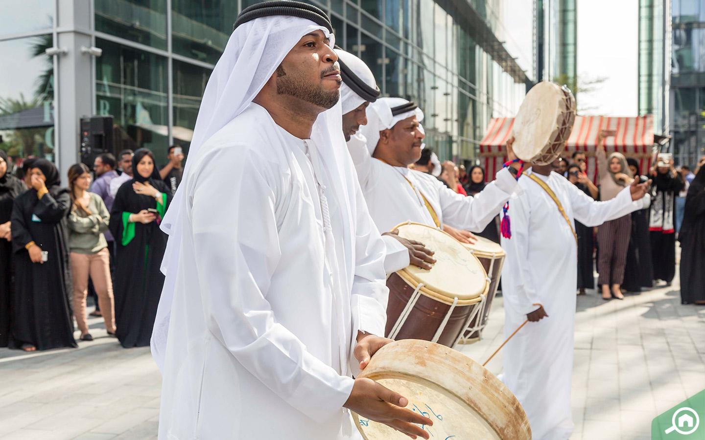 Popular UAE dance in Dubai