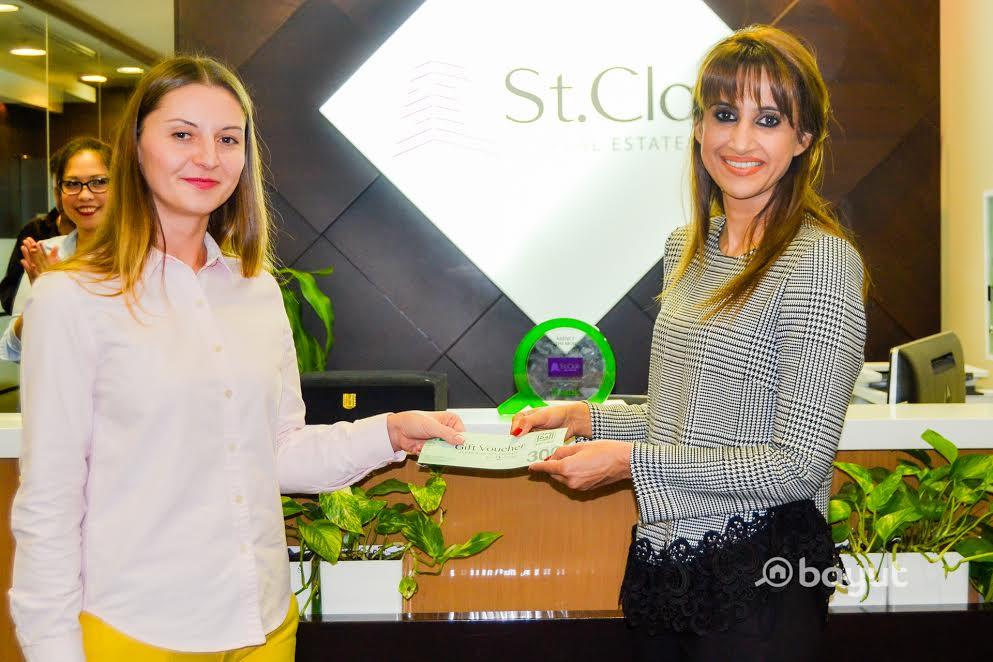 Aurelia Prigoda Wins Bayut's Agent of the Month Award