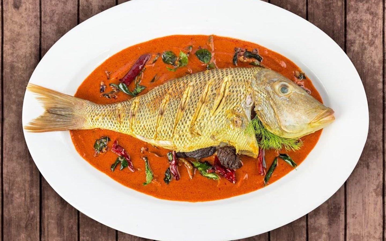 Seafood in Ustad hotel Dubai