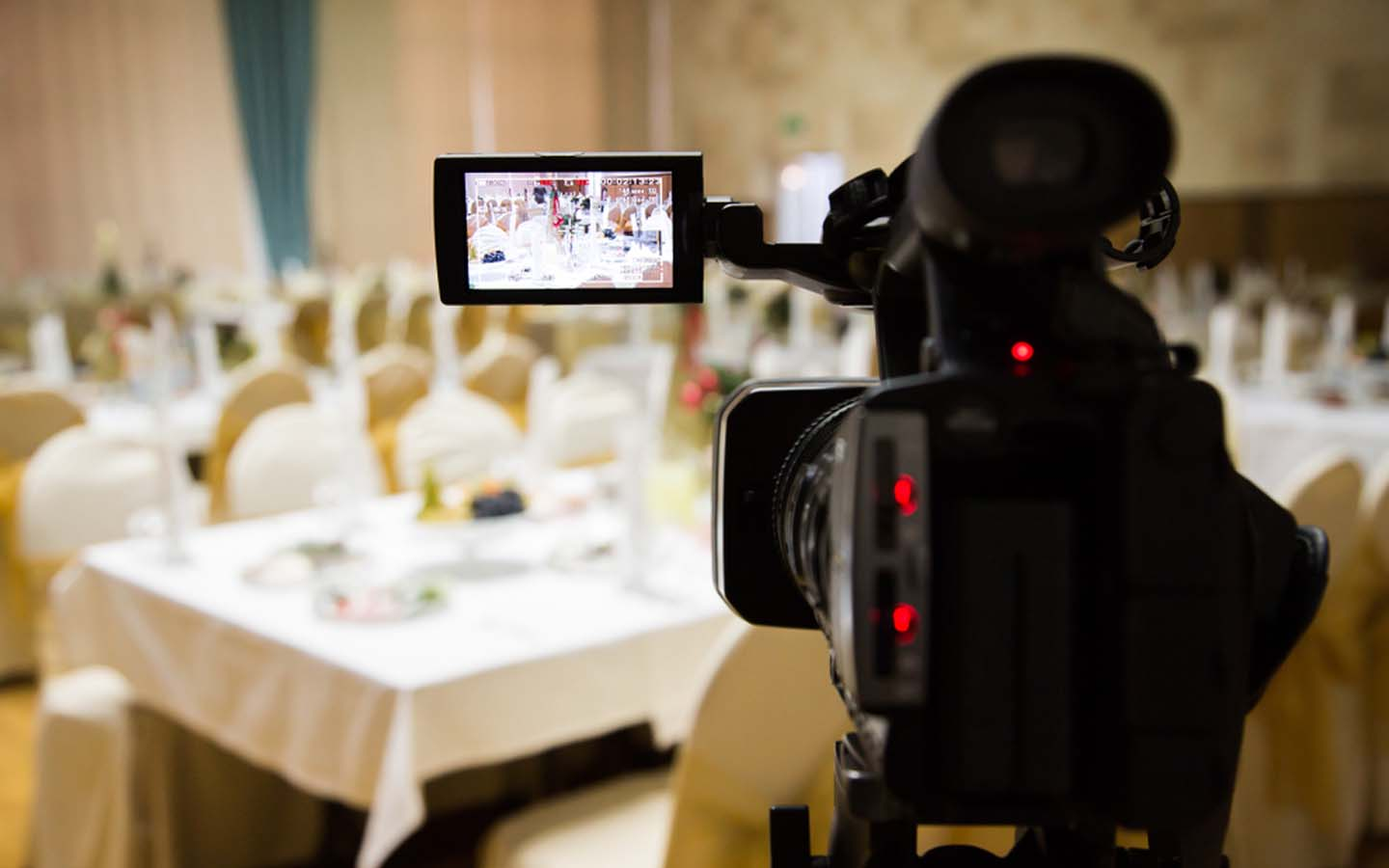video making at event