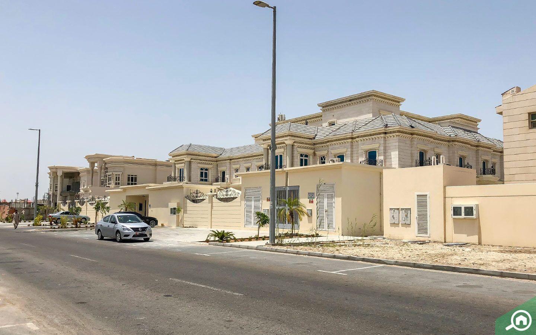 villas in Khalifa City