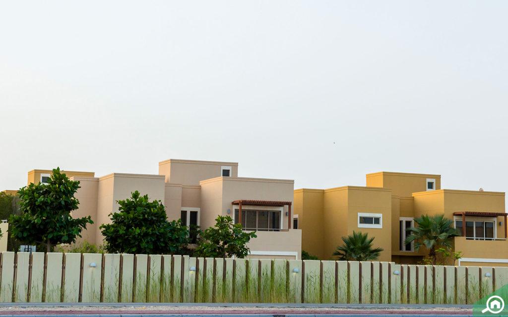 villas in al raha gardens