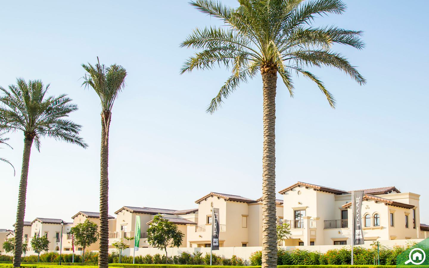 Villas in Arabian Ranches are built to very high standards