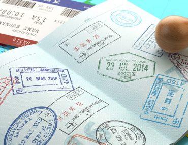 تأشيرات دخول على جواز