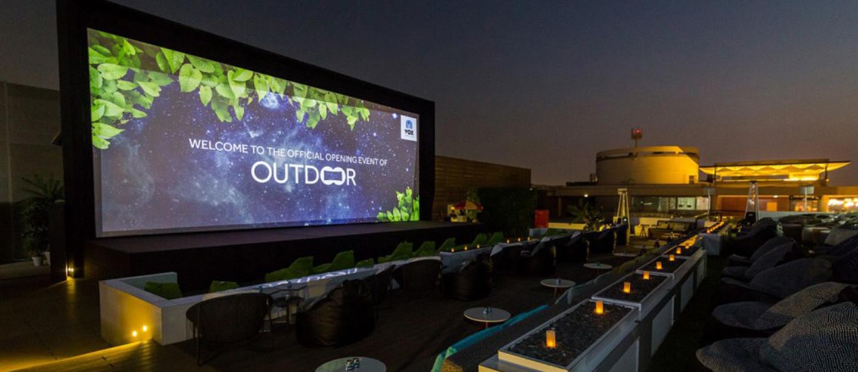 open air cinemas in Dubai