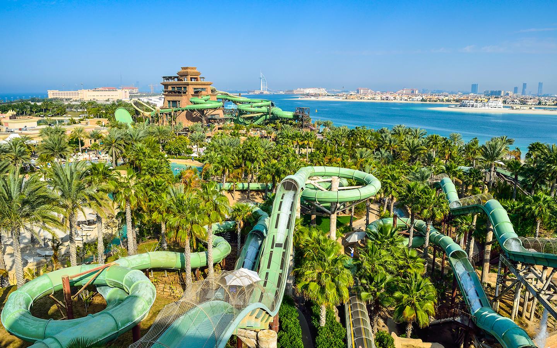 حدائق مائية في دبي