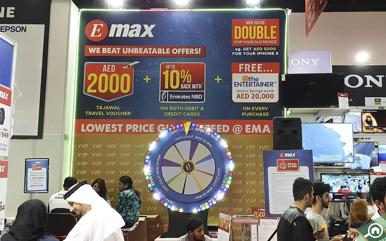 Contests and games at GITEX Shopper 2019 in Dubai