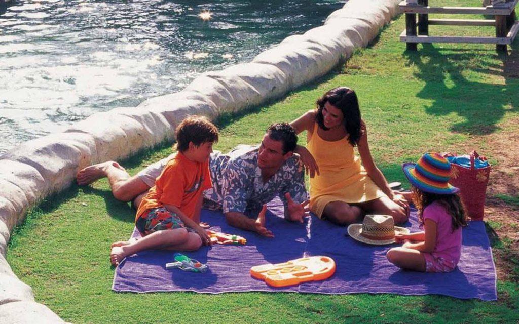 family enjoying a day at Wild Wadi Waterpark